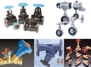 Valves for HVAC and Building Water Distribution